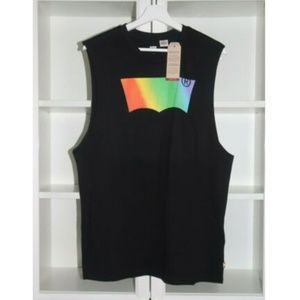 Levi's Pride Community Logo Tank Top - L or XL